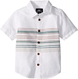 O'Neill Kids - Serf Short Sleeve Woven Top (Toddler/Little Kids)