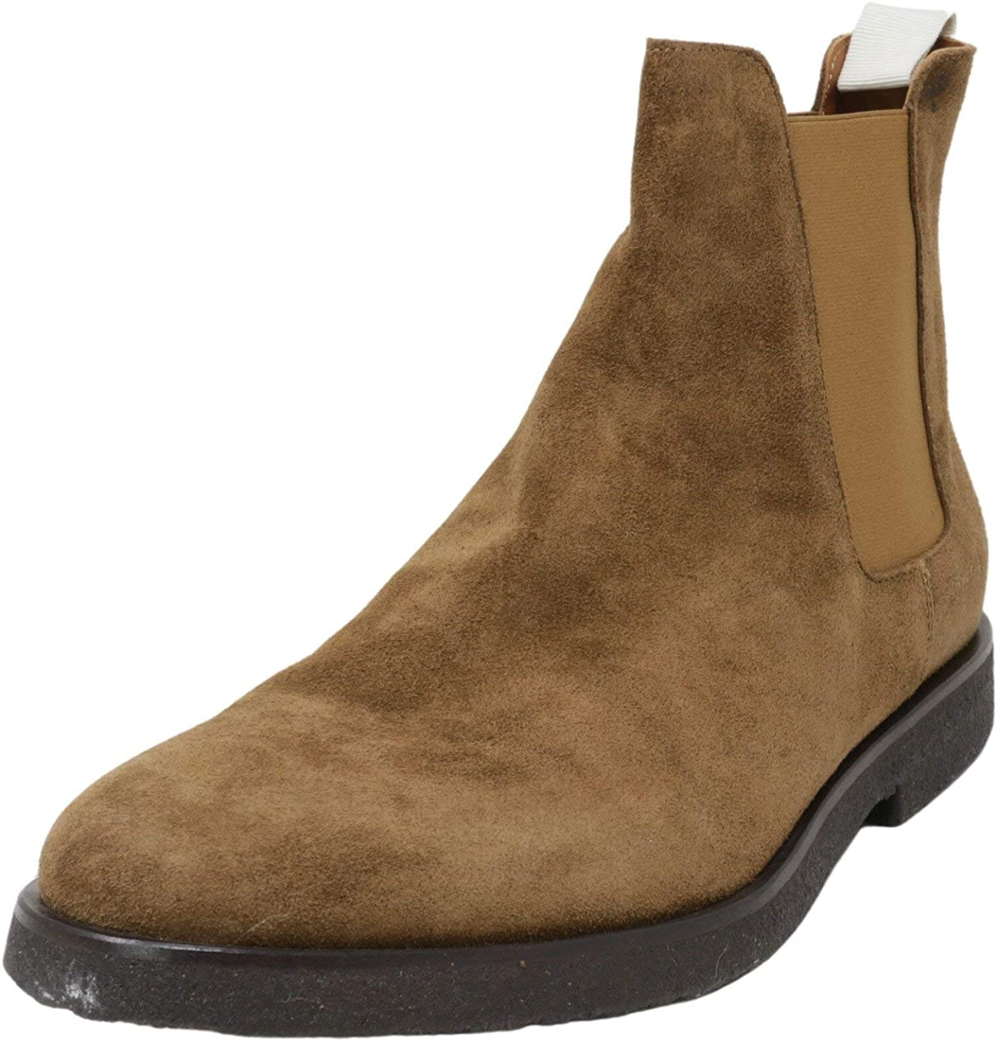 Suede Boot Brown High-Top Leather