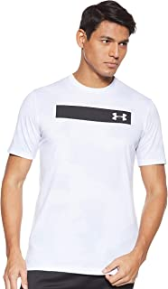 Under Armour Men's UA Printed Bar Ss T-Shirt
