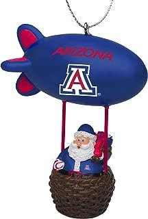 FOCO NCAA Arizona Wildcats Team Logo Santa Blimp Holiday OrnamentTeam Logo Santa Blimp Holiday Ornament, Team Color, One Size