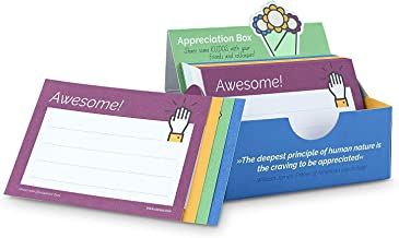Appreciation Box - Aumentare l'apprezzamento e la motivazione del team con 200 Kudos DIN A7 card