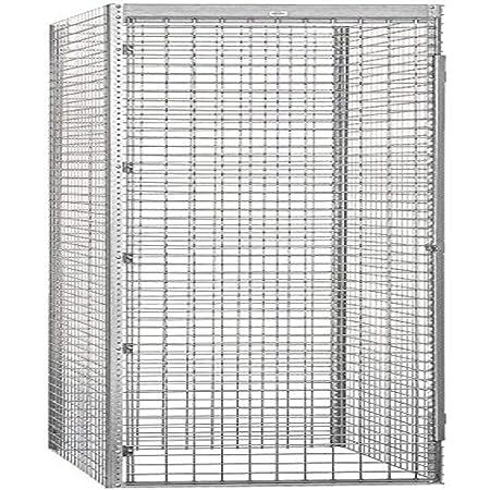 Amazon Com Salsbury Industries Bulk Storage Locker Single Tier Starter 36 Inch 48 Inch Home Kitchen