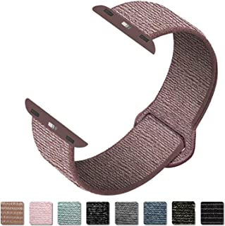 Cokier Sport Band Compatible with Apple Watch 38mm 40mm 42mm 44mm, Breathable Soft Sport Loop Strap Wristband Replacement for iWatch Apple Watch Series 5, Series 4, Series 3, Series 2, Series 1