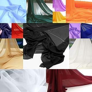 weiß Futterstoff Deko-Stoff zum Unterfüttern Steif klassisch Kariert Polyester
