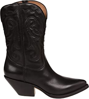 ventas en linea Buttero Mujer B8325DELFI01 Negro Negro Negro Cuero botas  los clientes primero