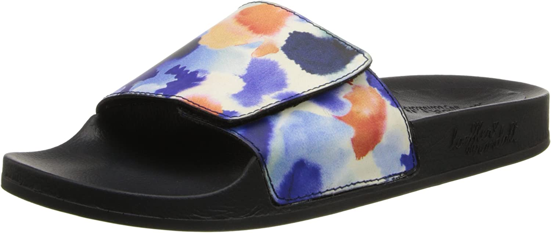 Loeffler Randall Women's Cat Ink Pool Slide Sandal bluee