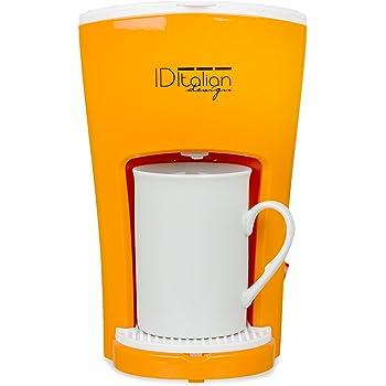 Italian Design IDECUCOF01 CAFETERA FUNNY PRO COFFEE MAKER, 450w ...
