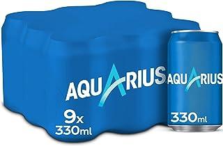 Aquarius Limón Lata - 330 ml (Pack de 9)