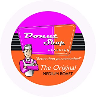 Donut Shop Classics single serve pods compatible with K-Cup Brewers 24 ct box (medium roast)