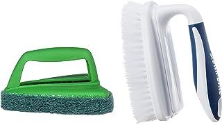 Scotch-Brite Bathroom Scrubber Brush + Household Scrubber Brush