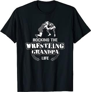 Funny Wrestling Grandpa Wrestler T Shirt Gift