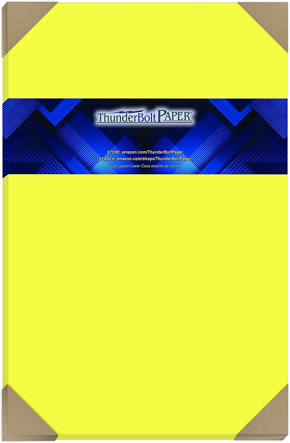 50 Bright Neon Yellow Fluorescent Color National products 11
