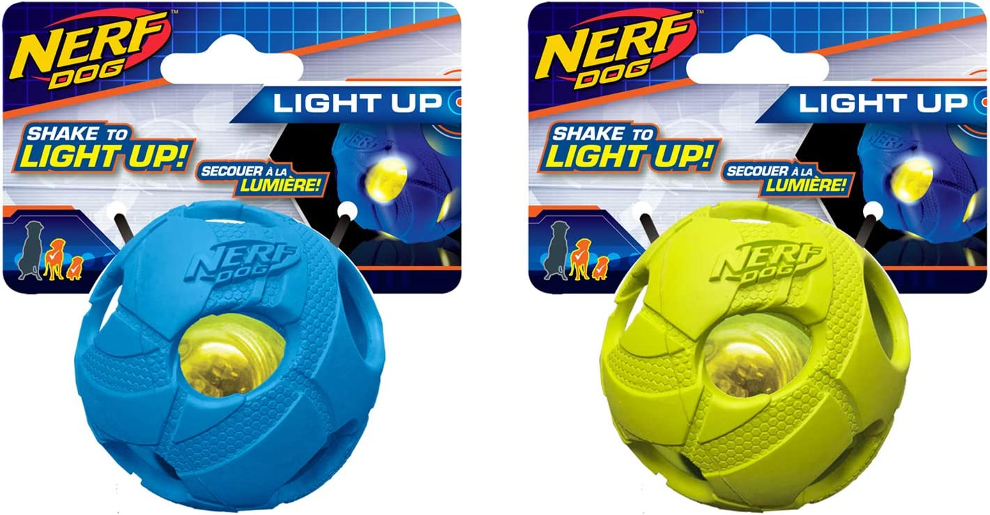Nerf Dog Bash Ball Toys D with Same Cheap day shipping Lightweight LED Interactive