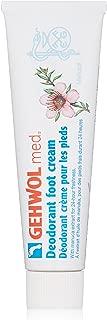 GEHWOL Med Deodorant Foot Cream, 2.6 oz