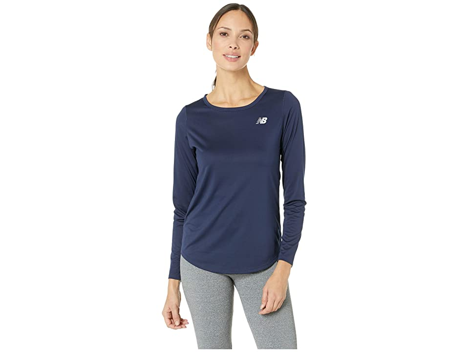 New Balance Accelerate Long Sleeve Top v2 (Pigment) Women