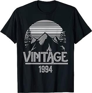 1994 Vintage Mountain Tip Retro | 25th Birthday 25 Year Old T-Shirt