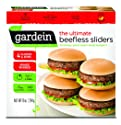 Gardein Ultimate Beefless Sliders, Meatless Protein Packed Sandwiches, 4 Count (Frozen)