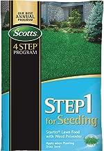 Scotts 4-Step Program Step 1 Starter Fertilizer With Crabgrass Preventer - 1 Each