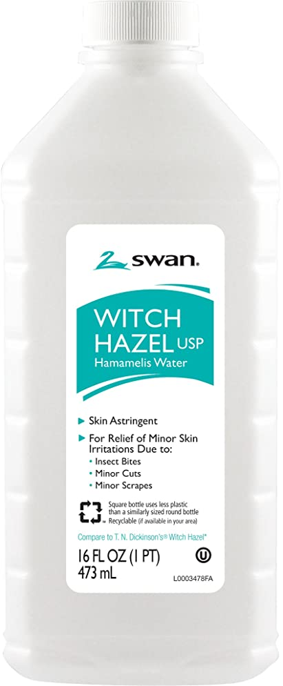 Swan Witch Hazel, 16 Ounce