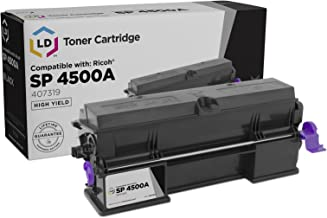LD Compatible Toner Cartridge Replacement for Ricoh 407319 High Yield (Black)