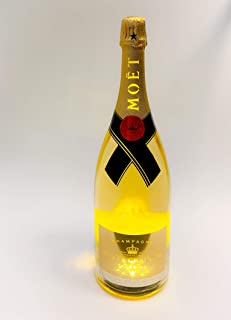 Moet Chandon Brut light up LED 1,5l Magnum Flasche 12% Vol Luminous