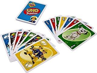 FMW18 UNO Junior Feuerwehrmann Sam, Kortspel för Barn, Tysk Edition