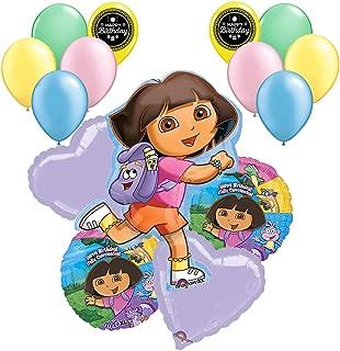Dora The Explorer Balloon Bouquet