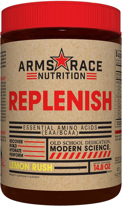 Arms Race Nutrition Replenish 安全 Amino - Rush Lemon Acids 半額