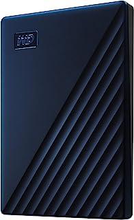 قرص صلب خارجي محمول ماي باسبورت من ويسترن ديجيتال 4TB WDBA2F0040BBL-WESN