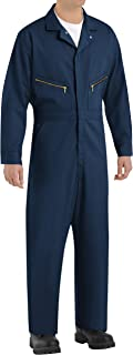 Red Kap Men's Zip-Front Cotton Coverall