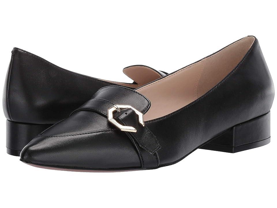 Cole Haan Leela Skimmer (Black Leather) Women