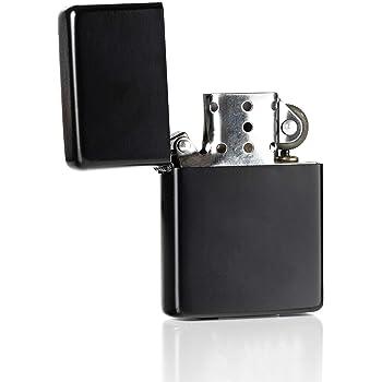 ZORR American Style - Mechero de gasolina, color negro: Amazon.es ...