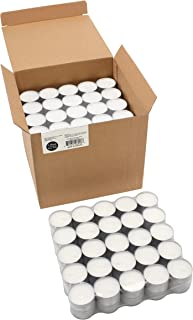 Stonebriar Tea Light Candles, 200 pack, White