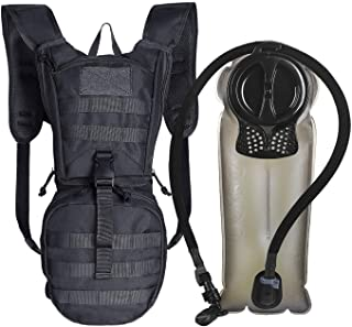 Unigear Tactical Hydration Pack Backpack 900D with 2.5L Bladder for Hiking, Biking,..