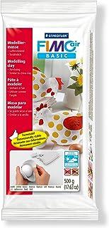 Staedtler FIMO Air Basic, Pâte à modeler blanche durcissante à l'air libre avec rendu argile, Pour débutants et artistes, ...