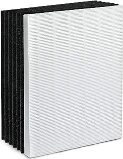True HEPA Plus 6 Carbon Replacement Filter A 115115 Size 21 for Winix PlasmaWave air Purifier 5300 6300 5300-2 6300-2 P300 C535