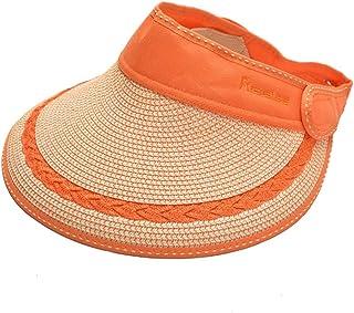 Sombrero de la playa Sombrero del verano de la paja Sombrero solar del sombrero de copa UV de la protección solar