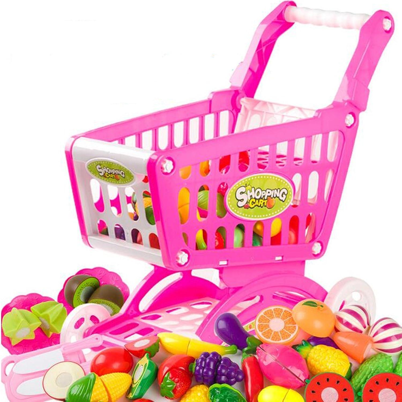 26 Piece Kitchen Cooking Set Girls Boys Fruit Vegetable Play Toy Set