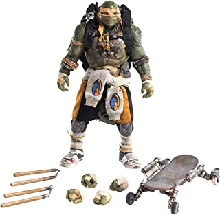 ThreeZero Teenage Mutant Ninja Turtles: Out of The Shadows: Michelangelo 1:6 Scale PVC Figure