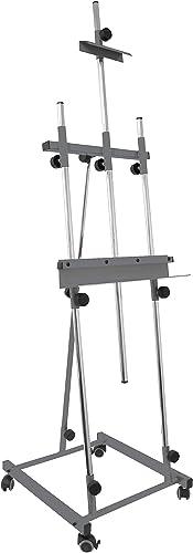 alta calidad general Sonpó Online - - - Modelo Goya gris - Caballete de Pintura Profesional para Pintar Cuadros - Estructura de Acero de Alta Resistencia con Acabados en Color gris  precio mas barato