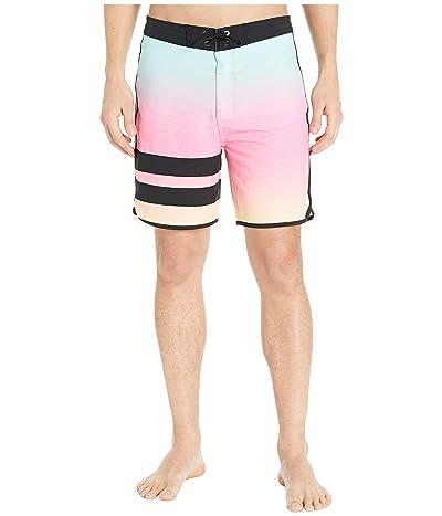 Hurley 18 Phantom Block Party Keep Cool Boardshorts (Digital Pink) Men