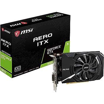 MSI GeForce GTX 1650 AERO ITX 4G OC グラフィックスボード VD6936