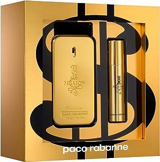 Paco Rabanne 1 Million Set, Eau de Toilette 50 ml and Travel Spray, 10 ml