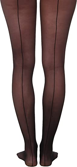 Wolford - Individual 10 Back Seam Tights