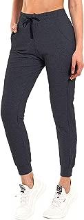 "BUBBLELIME 19""/28"" Women's Active Yoga Jogger Pants with Pockets Lounge Sweatpants Running Workout Athletic Pants Capri"