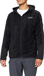 Reebok Men's Wor Fleece Fz Hoodie Hooded Sweatshirt