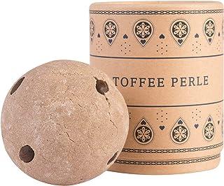 Lumunu Deluxe badbomb Toffee Pärle, tung Xxl badboll med närande kakaosmör, vegan och djurförsöksfri, 180 G