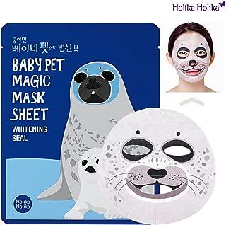 Holika Holika Baby Pet Magic Mask Sheet Whitening Seal, 0.7 Ounce