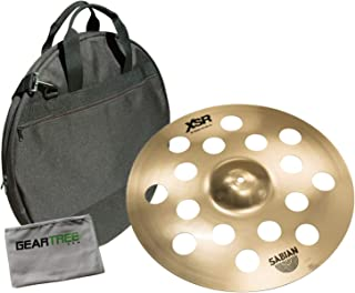 Sabian XSR1800B 18in XSR O-Zone B20 Crash Cymbal Bundle w/Bag