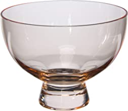 Bloomingville Blush Glass Footed Bowl
